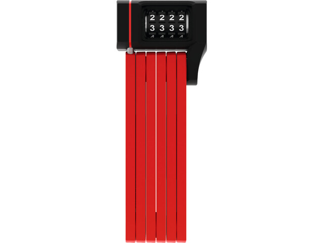 ABUS Bordo uGrip 5700C/80 SH Candado Plegable, red